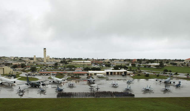 MORE THAN 100 AIRCRAFT AT EXERCISE COPE NORTH 17