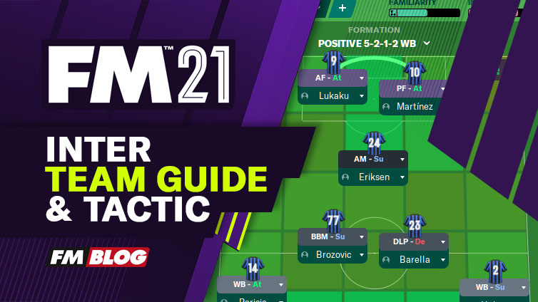 Football Manager 2021 Inter - Tactic | Team Guide | FM21