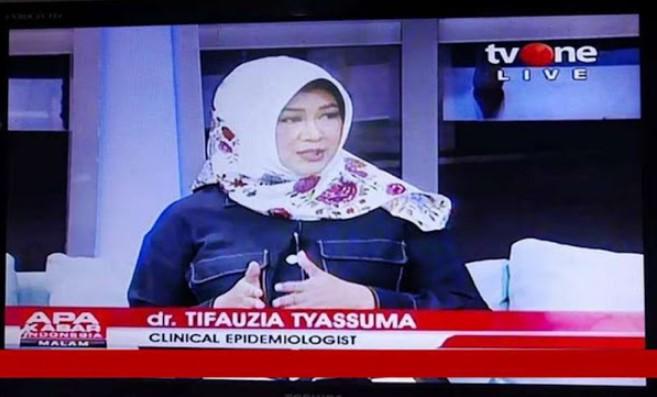 dr Tifa: Saya Dukung Vaksin, Saya Taat UU, Yang Saya Tolak Vaksin Sinovac
