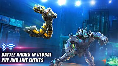 لعبة ملاكمة الآلات World Robot Boxing 2 مهكرة للأندرويد