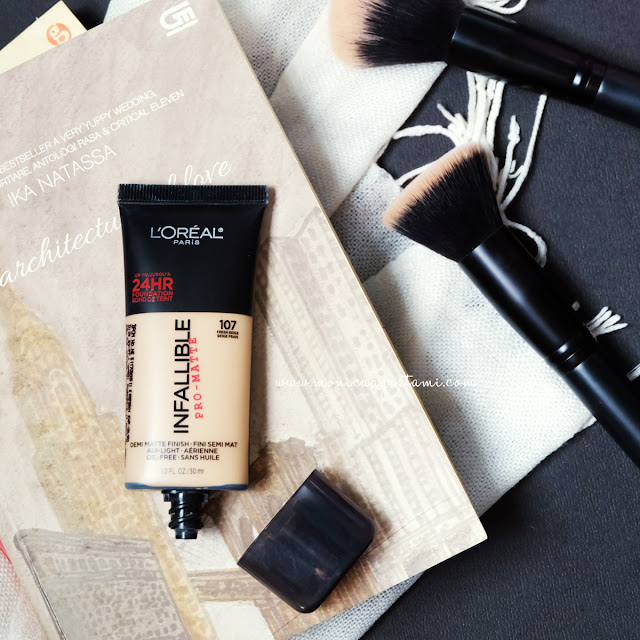 review loreal infallible pro matte foundation