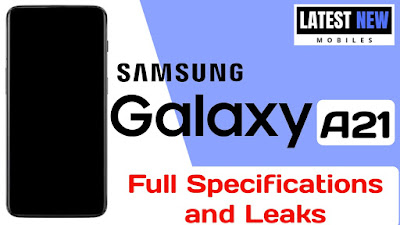 Samsung Galaxy A21 full Specifications