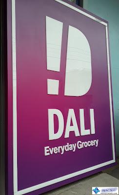 Acrylic Signage - Dali Everyday Grocery