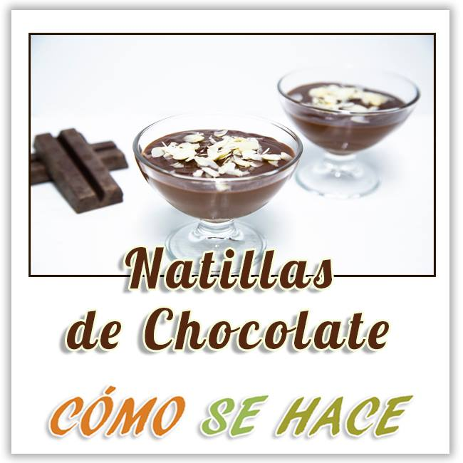 NATILLAS DE CHOCOLATE