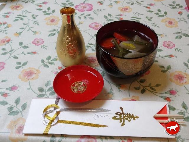 osechi, le petit déjeuner traditionnel du nouvel an au Japon