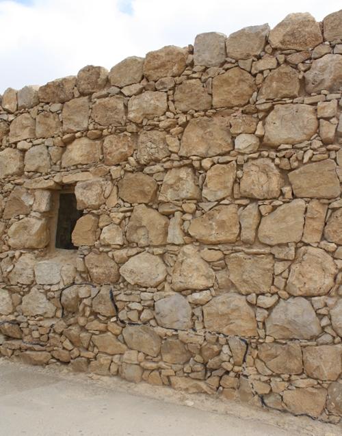 masada palace walls