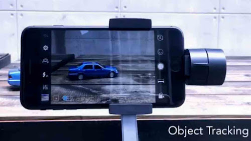 object tracking gimbal feature