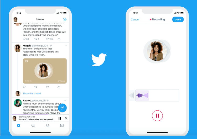 "Twitter Adds Feature ""Audio Tweet"" For iOS"