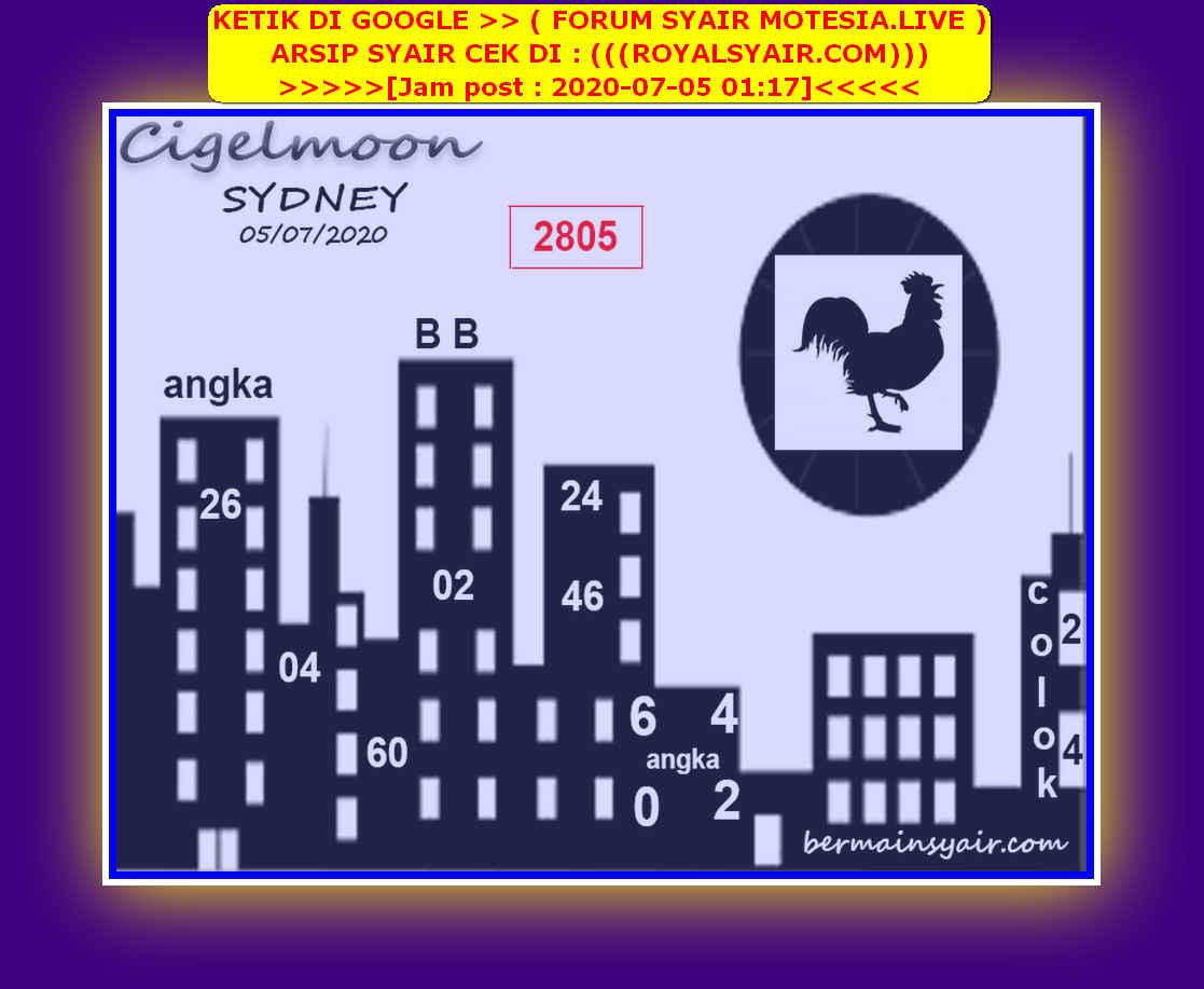 Kode syair Sydney Minggu 5 Juli 2020 195