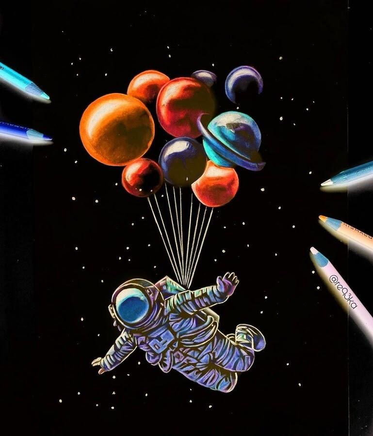 02-Spaceman-and-balloons-N-Réka-Gyányi-www-designstack-co