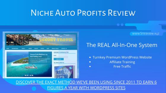 Niche Auto Profits Review - Create 100% Automated Wordpress Website