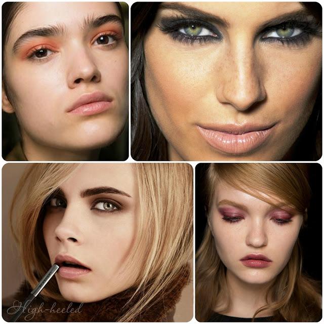 Трендовый макияж  2017 года