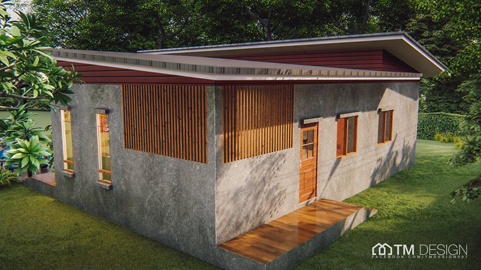We love to have a house that is not quite similar to houses in our neighborhood. So if you are looking for something different, why don't you consider having an L-shaped house? In this post, we will show you modern L-shaped house plans collection from TM Designs! A house construction company based in Thailand!  House No. 1 One-Story L-Shaped House Plan 2 Bedrooms 3 Bathrooms 1 Kitchen 1 Living Room Area 100 sqm Construction Budget: 1.2 Million Bath  House No. 2  One-Story L-Shaped House Plan 2 Bedroom 1 Bathroom 1 Kitchen 1 Living Room Area: 145 sqm Construction Budget: 1.6 Million Baht  House No. 3 One-Story L-Shaped House Plans 2 Bedrooms 2 Bathrooms 1 Kitchen 1 Living Room Area: 126 sqm Construction Budget: 1.35 Million Baht or P2.2 Million  House No. 4 One-Story L-Shaped House Plans 3 Bedrooms 1 Bathroom 1 Kitchen 1 Living Room 1 Dining Room Area: 101 sqm Construction Budget: 1.2 Million Baht or P2 million pesos  House No. 5 One-Story L-Shaped House Plans 3 Bedrooms 2 Bathrooms 1 Kitchen 1 Living Room Area: 110 sqm Construction Budget: 1.2 Million Baht or P2 million pesos  House No. 6 One-Story L-Shaped House Plans 2 Bedrooms 2 Bathrooms 1 Kitchen 1 Living Room Area: 133 sqm Construction Budget: 1.35 million baht or P2.2 million pesos  House No. 7 One-Story L-Shaped House Plans 3 Bedrooms 2 Bathrooms 1 Kitchen 1 Living Room Area: 184 sqm Construction Budget: 1.85 million baht or P3 Million Pesos  House No. 8 One-Story L-Shaped House Plans 1 Bedroom 1 Bathroom 1 Kitchen 1 Hall 1 Storage Area: 123 sqm Construction Budget: 1,300,000 baht or P2.1 Million Pesos  House No. 9 One-Story L-Shaped House Plans 3 Bedrooms 2 Bathrooms 1 Office 1 Hall 1 Living Room Area:136 sqm Construction Budget: 1,300,000-1,500,000 baht or P2.1 to P2.4 Million Pesos  House No. 10 One-Story L-Shaped House Plans 2 Bedrooms 2 Bathrooms 1 Living Room 1 Kitchen Area: 105 sqm including the balcony Construction Budget: 1,100,000 Baht or P1.8 Million  This article is filed under   small house desi