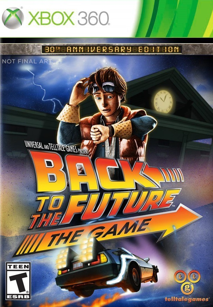 Back To The Future ESPAÑOL XBOX 360 Cover Caratula