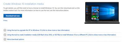 تحميل iso و تثبيت ويندوز 10 عبر فلاش USB