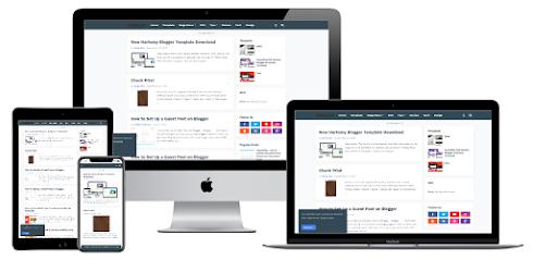 SeoPro - Responsive Premium Blogger Template