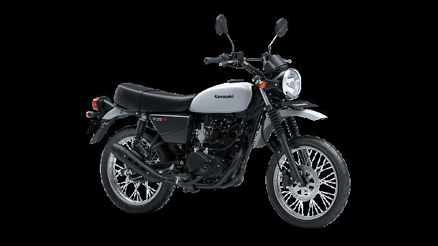 Spesifikasi Kawasaki W175TR