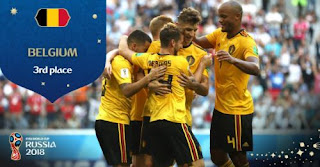 Belgia Juara Ketiga Piala Dunia 2018