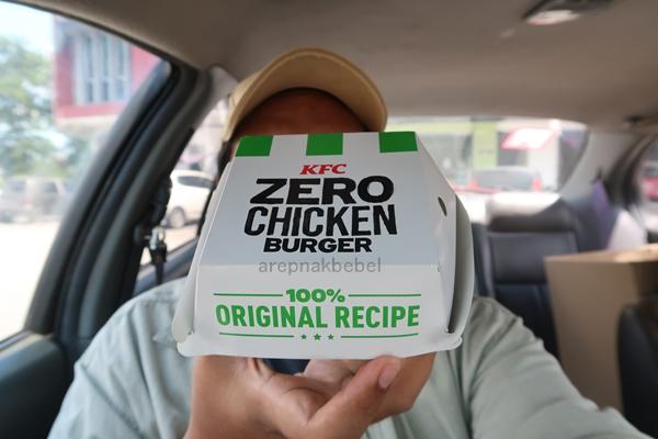KFC Zero Chicken Burger Nih Sedap Ke Tak Sebenarnya?