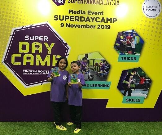 Manfaatkan Cuti Sekolah di SuperDayCamp SuperPark