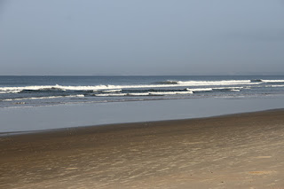 Photograph of Early morning scene at Varca beach in South Goa by Manju panchal