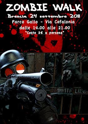 Zombie Walk Brescia: 24 Settembre 2011