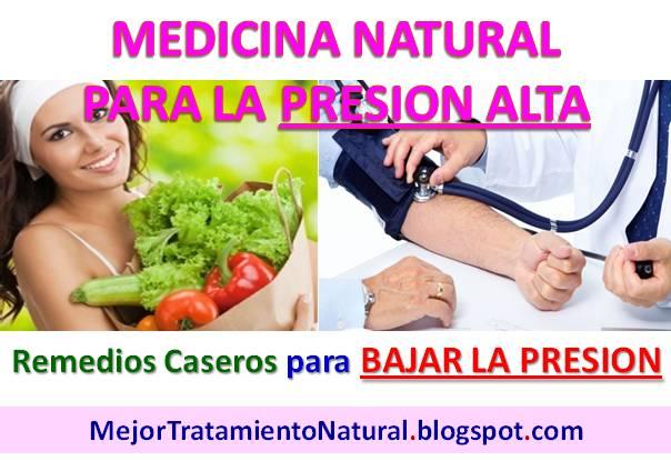 Medicina Natural para Presion Alta: 5 Remedios Naturales ...