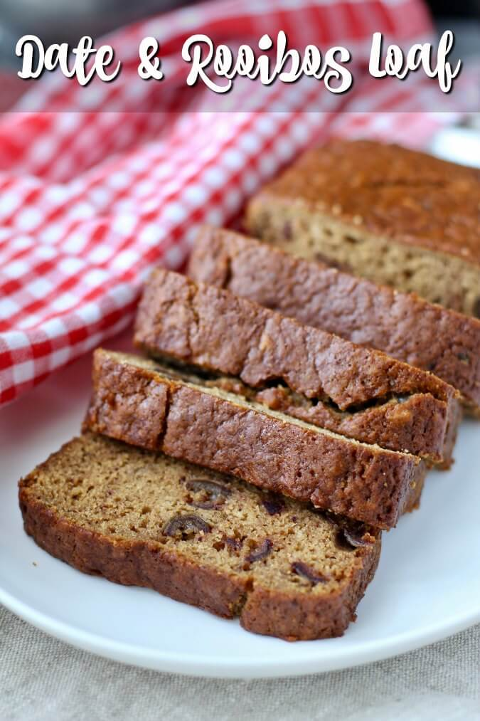 Date and Rooibos Tea Loaf Cake