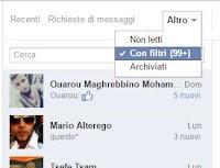 Scopri i messaggi Facebook nascosti ricevuti in chat e Messenger
