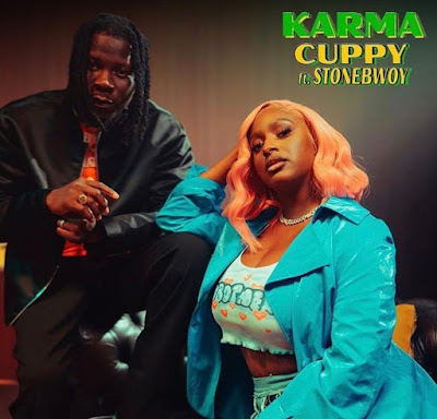 Dj Cuppy Ft Stonebwoy - Karma (Official Music Video + Audio MP3)