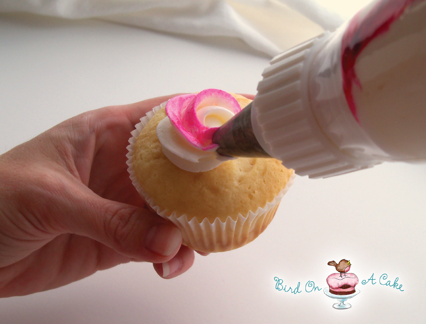 how to make icing roses for wedding cakes bird on a cake perfectly packaged cupcakes 15965