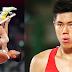 EJ Obiena sporting SpongeBob and Patrick socks for Olympic pole vault finals