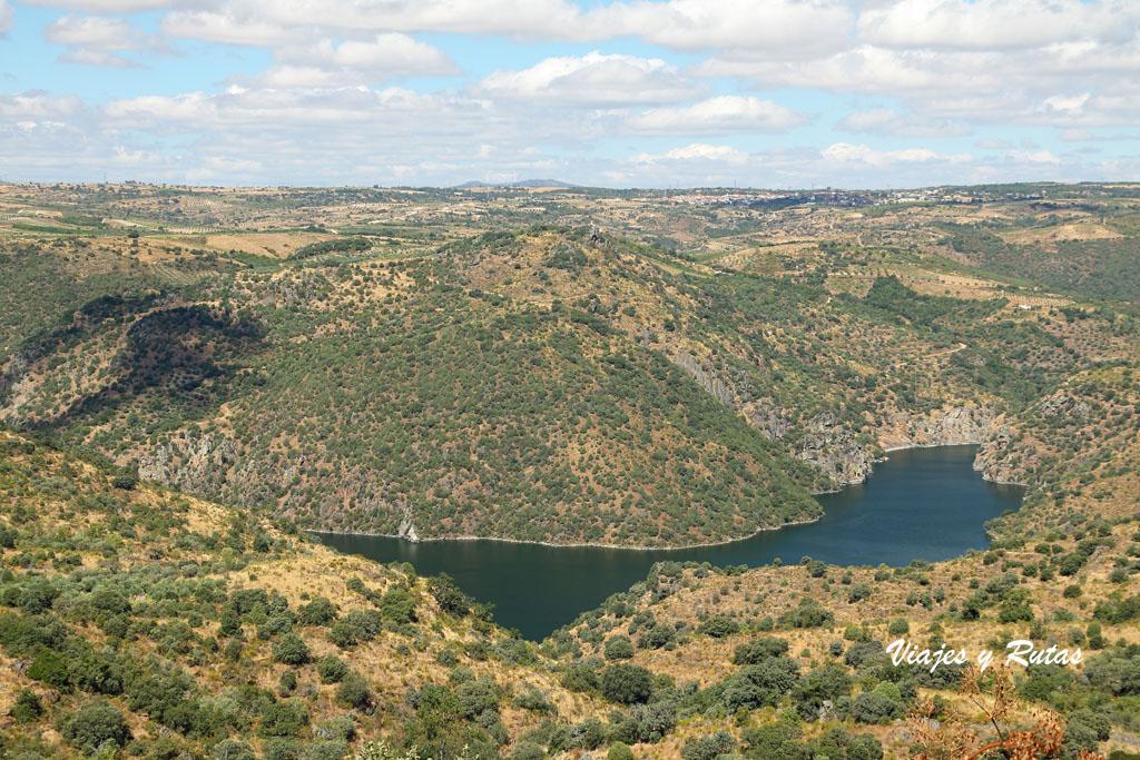 Vistas del Mirador del Castillo de Fermoselle
