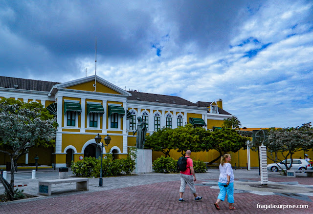 Forte Amsterdam, em Willemstad, Curaçao
