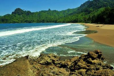 pantai bandealit jember-banyuwangi