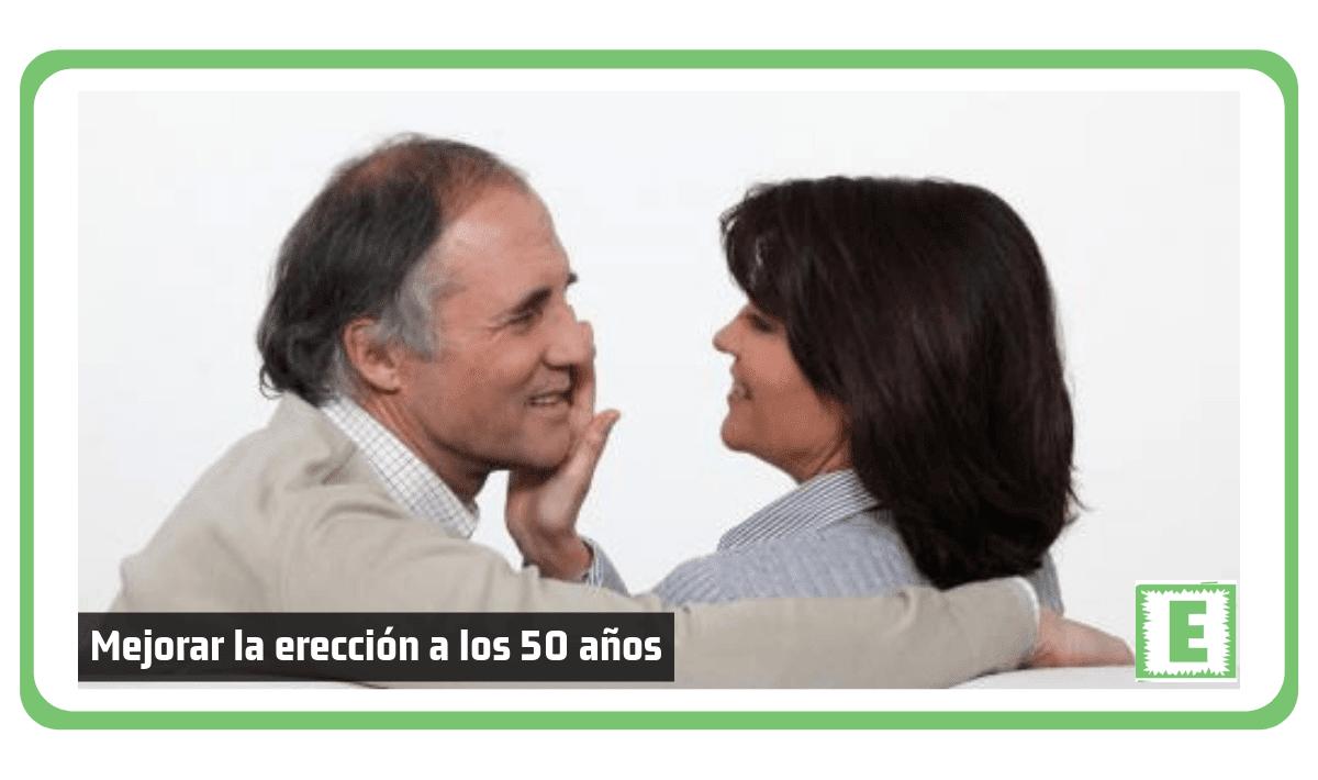 Como mejorar la erección a los 50