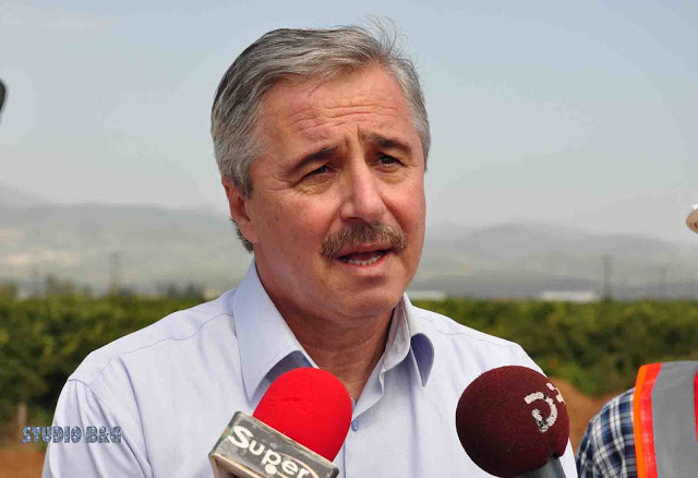 Γ. Μανιάτης: Αναρμοδιότητα δηλώνει ο Χρ. Σπίρτζης για την πορεία υλοποίησης του οδικού τμήματος Δερβενάκια - Μυκήνες (Εκκλησιαστικά)
