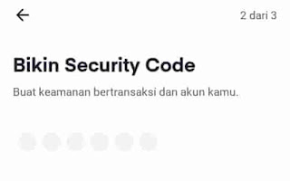 buat password akun ovo