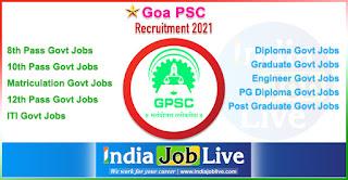 goa-psc-recruitment-indiajoblive.com