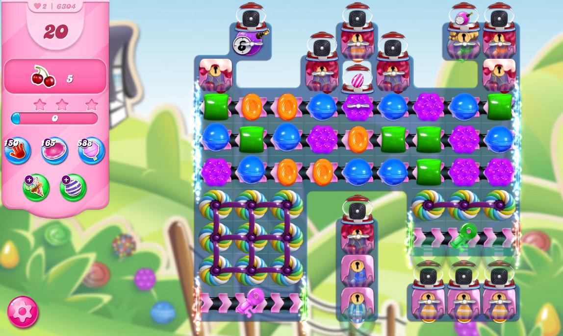 Candy Crush Saga level 6304