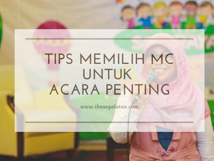 Tips Memilih MC untuk Acara Penting
