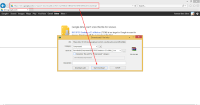 Download file Google Drive Via IDM