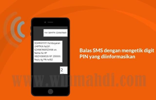 Cara pembayaran um-ptkin dengan bni sms banking