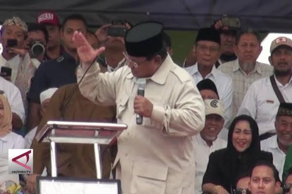 Diminta Nyapres Lagi, Ini Tanggapan Prabowo