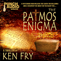 COVER ART for THE PATMOS ENIGMA AUDIOBOOK
