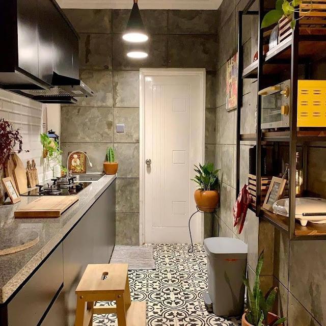 Lampu Penerangan Dapur Minimalis Sederhana