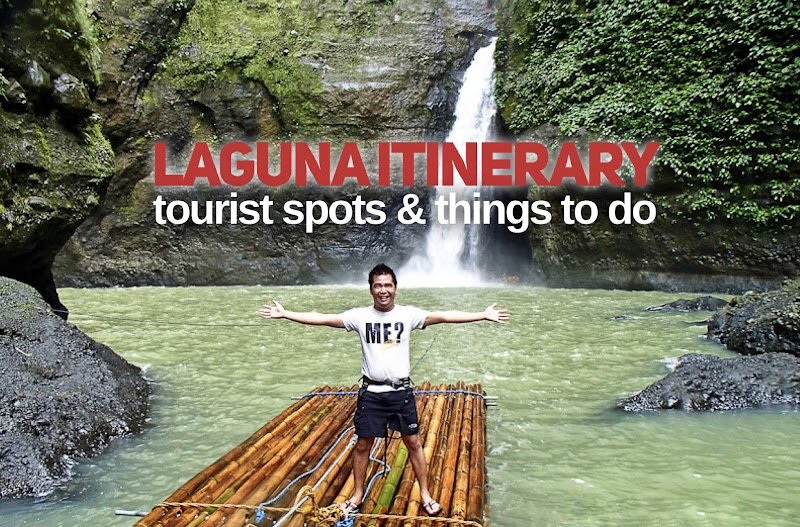 Laguna Tourist Spots Itinerary and Things to do