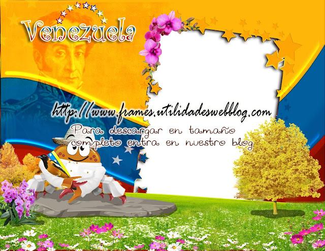 marco del signo cancer con elementos típicos de Venezuela