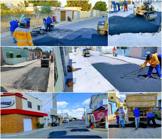 Ibimirim: Oito ruas e mais duas Avenidas tiveram seu asfalto recuperado pela  prefeitura local