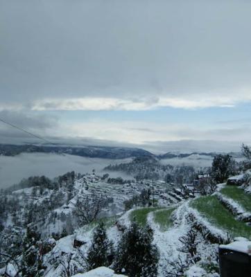 snowfall pahad